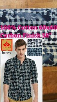 Shirting  Carbon Finish Fabric  58