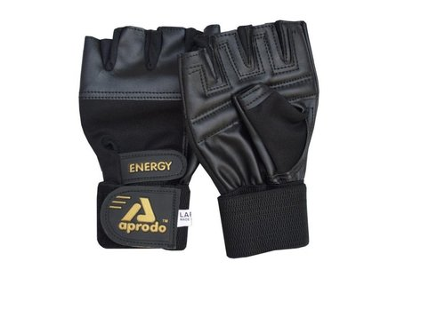 APRODO ENERGY FITNESS GYM GLOVES
