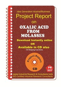 Oxalic Acid from Molasses II manufacturing PR eBook