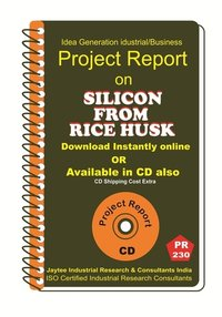 Silicon From Rice Husk manufacturing Project Report eBook