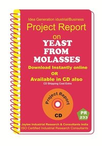 Yeast From Molasses Press Mud manufacturing eBook