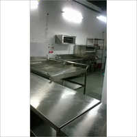 Stainless Steel Modular Commercial Kitchen