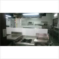 Commercial Cafe Kitchen