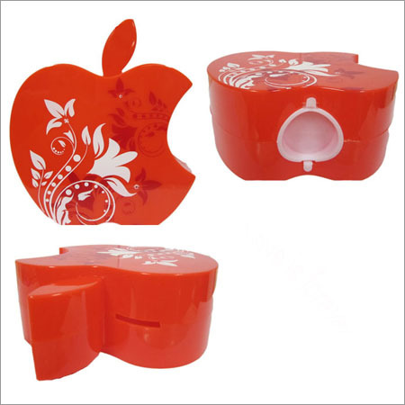 Apple shape coin box for Love Is Forever