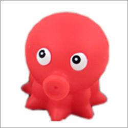 Custom Mini Cute  Cartoon Figure Plastic Toy Octopus
