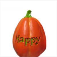 Decorations Halloween pumpkin Plastic Decoration Light