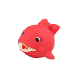 Fancy Surprised Kids Plastic Toy Red Fish