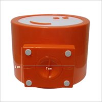 Round shape coin box for promotion