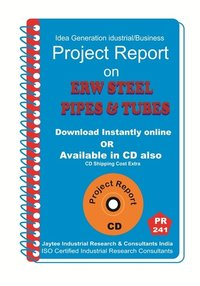 ERW Steel Pipes and Tubes Manufacturing Project Report eBook