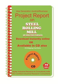 Steel Rolling Mill(By Induction Furnance) manufacturing Ebook