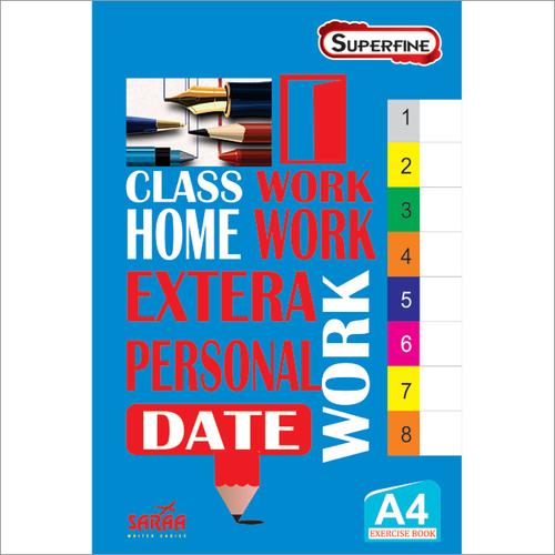 Superfine A4 Notebook