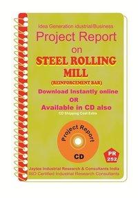 Steel Rolling Mill (Reinforcement Bar) manufacturing Ebook