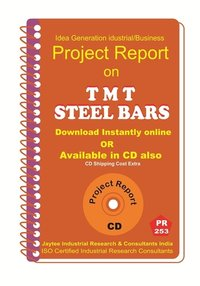 T M T Steel Bars manufacturing Project Report Ebook