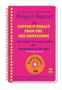 Copper and Cobalt from the Ore Containing manufacturing Ebook