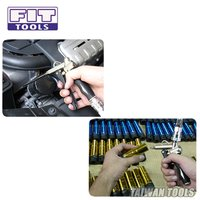 FIT TOOLS 2 Way Air Blow Gun w/ Adjustable Air Flow, Extended Nozzle, and Shortest Nozzle