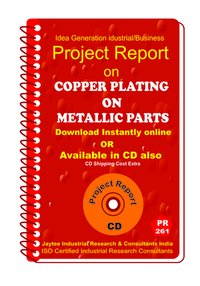 Copper Plating On Metallic Parts manufacturing (eBook)