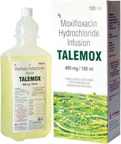 Moxifloxacin 100 Mg Infusion