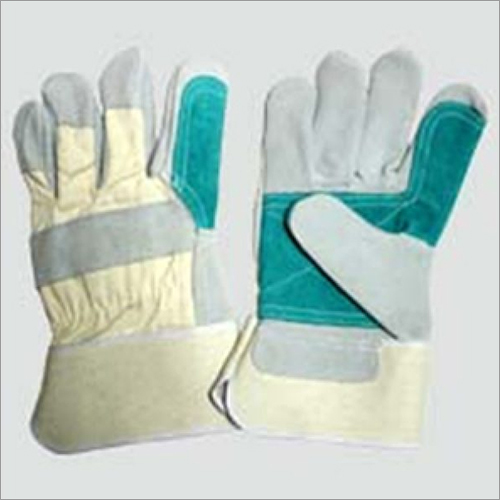 Canadian Gloves With Green Reinforcement
