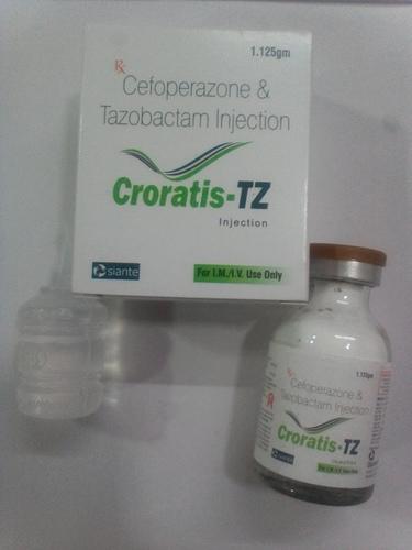 Cefoperazone 1gm + Tazobactom 125gm