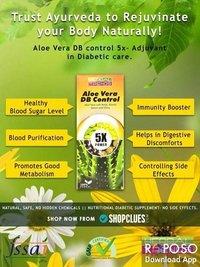 Aloe Vera Diabetes Control Juice