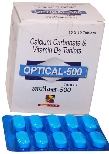 Calcium Carbonate Vitamin D3 Tablet