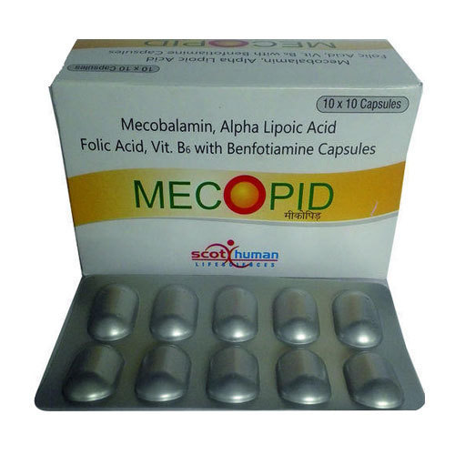 Methylcobalamin, Alpha Lipoic acid, Folic acid, Vit. B6 Capsule