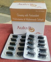 Ginseng Multivitamin & multiminerals Antioxident Capsule