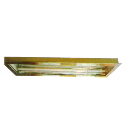 Non Flame Proof Clean Room Light Fitting