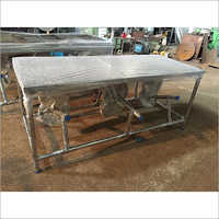 Stainless Steel Cafeteria Table