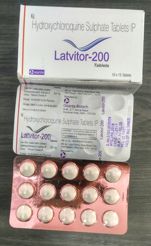 Hydroxychloroquine Sulfate 200mg Tablets