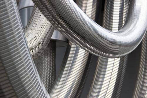 Stainless steel flexible hoses for Argon gases