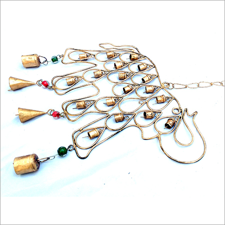 Elephant Designed Iron Hanging Bell