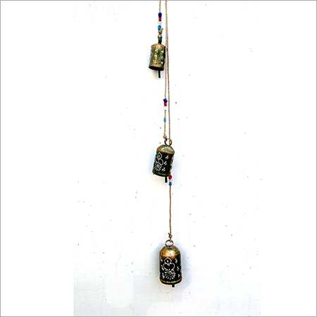 Green Iron Hanging Bell