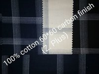 Shirting Fabric in Carbon Finish (Z Plus) 58