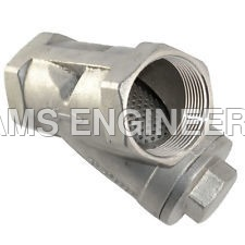 Screwed Strainer Valve