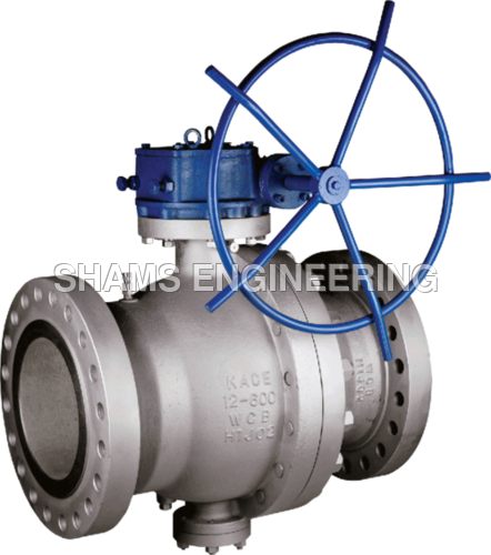 Two Piece Trunnion Ball Valve