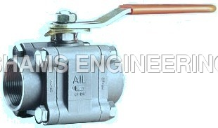 Audco 3 Piece Full Bore Ball Valves
