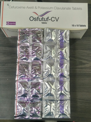 Cefuroxime Axetil 500mg + Clavulanate Acid 125mg Tablets
