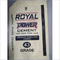 PP Woven Cement Packaging Bag