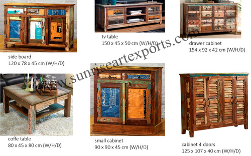 Reclaimed Recycled Wood furniture