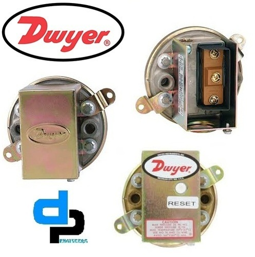 Dwyer 1910-5 Compact Low Differential Pressure Switch