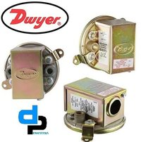 Dwyer 1910-10 Compact Low Differential Pressure Switch