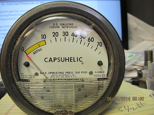 Series 4000 Capsuhelic Differential Pressure Gage