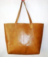 Handmade Leather Shopper Bag