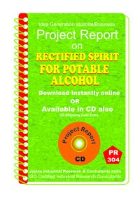 Rectified Spirit From Rice Pappad Straw manufacturing eBook