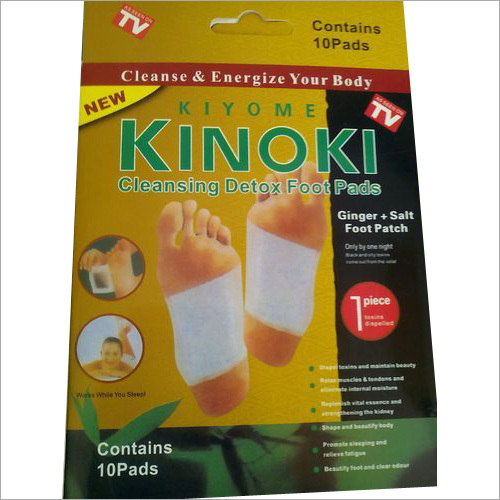 Kinoki Gold Detox Foot Patch