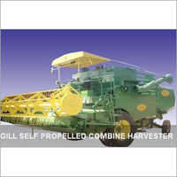 Self Propelled Combine Harvester