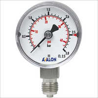 Flanged End Diaphragm Gauge