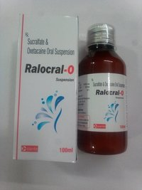 Sucralfate 1gm + Oxetacaine 20mg per 5ml
