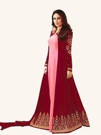 Kareena Kapoor Pink N Maroon Anarkali Suit
